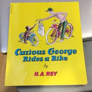 Curious George Rides a Bike by H. A. Rey Good Cond